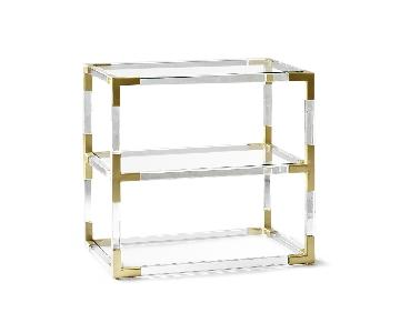 Jonathan Adler Jacques 2-Tier Side Table