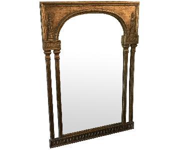 Gold Antiqued Mirror
