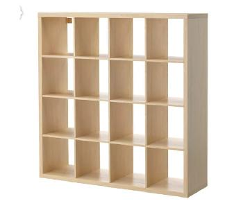 Ikea Kallax Birch Shelving Unit