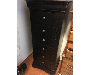 Tall Narrow 6 Drawer Dresser