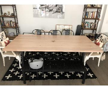 Foundrywood Custom White Oak Dining Table