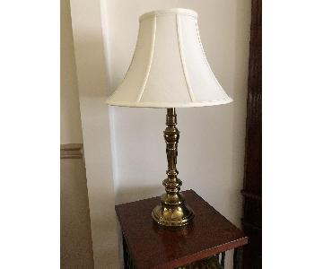 Stiffel Brass Table Lamps