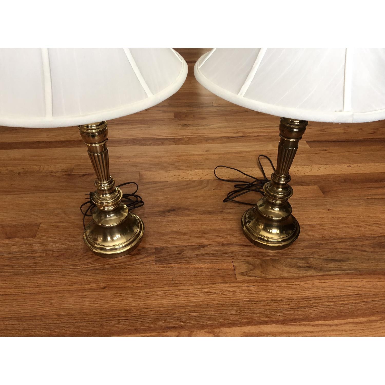 Stiffel Brass Table Lamps Aptdeco