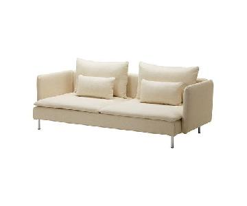 Ikea Soderhamn Sofa in Isefall Natural