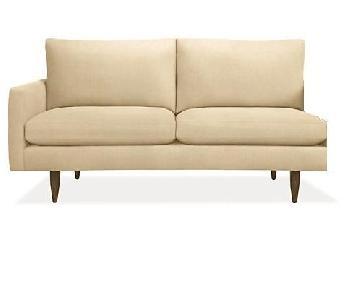 Room & Board Fabric One Arm Sofa