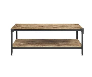 Loon Peak Arboleda Rustic Wood Coffee Table