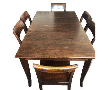 Crate & Barrel Cabria Dining Table w/ 6 Chairs