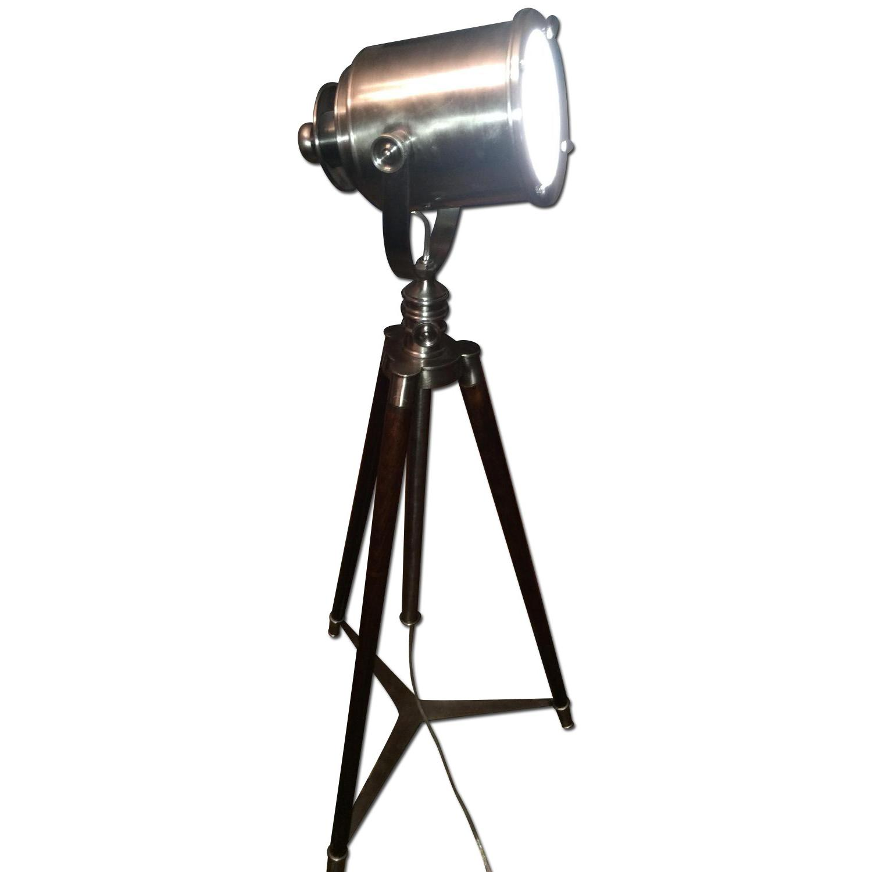 Pottery Barn Tripod Floor Lamp Aptdeco