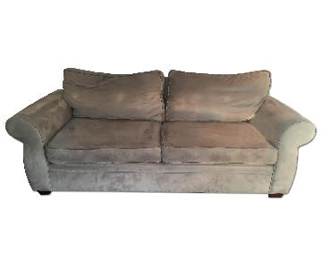 Pottery Barn Pearce Upholstered Sofa in Neutral/Natural