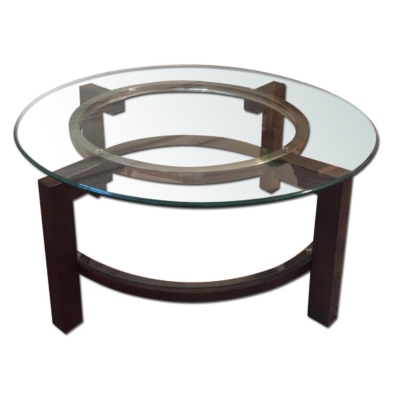 Macy S Glass Coffee Table Aptdeco