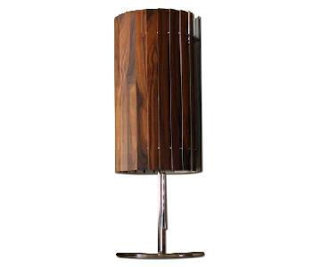 Slatewood Rosewood Table Lamp