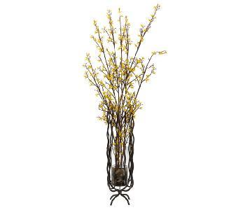 John Richard Forsythia Floral Decoration