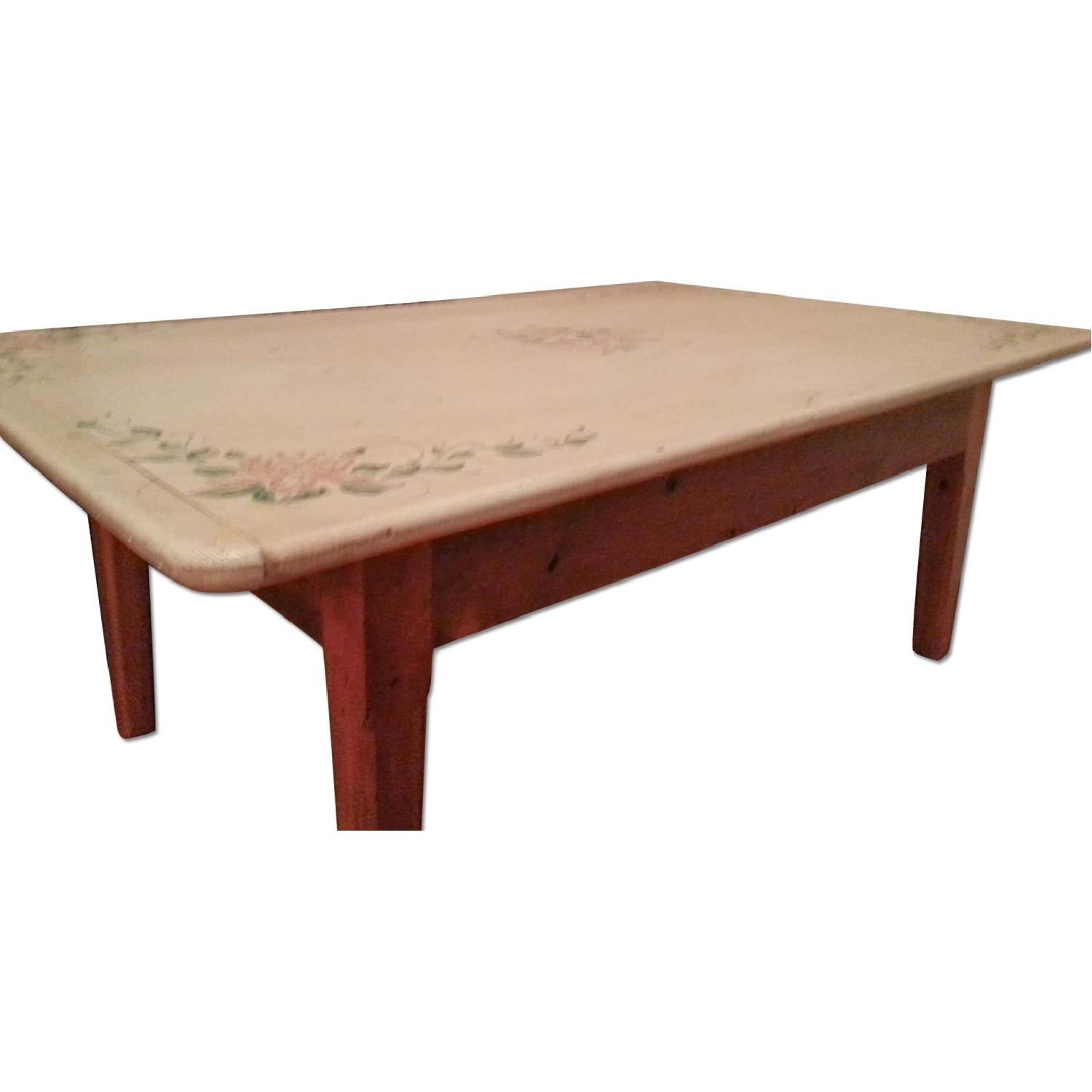 Mission Style Coffee Table AptDeco