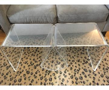 Plexiglass Coffee Tables