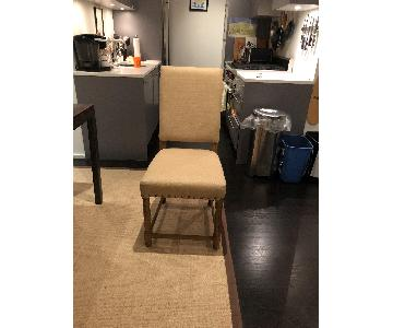 Upholstered Dining Chairs w/ Nailhead Trim