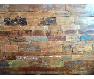From The Source Reclaimed Teak Wood Queen Headboard