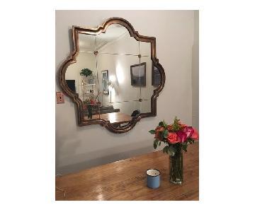 Anthropologie Large Vintage Mirror