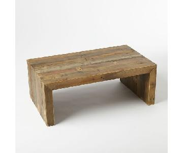West Elm: Emmerson Reclaimed Wood Coffee Table