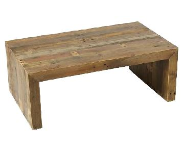 West Elm Furniture For Sale AptDeco - West elm emmerson reclaimed wood coffee table