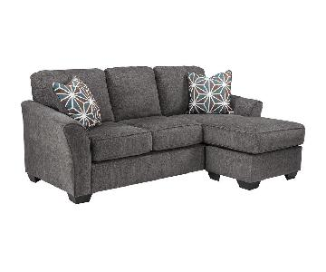 Jennifer Convertibles Bryce 2-Piece Chaise Sectional Sofa