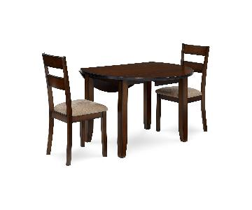Macy's Branton Drop Leaf Round Table w/ 2 Chairs
