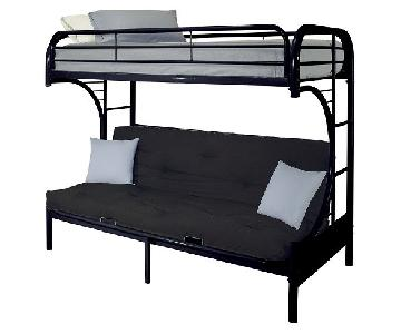 Ikea Bunk Bed w/ Futon
