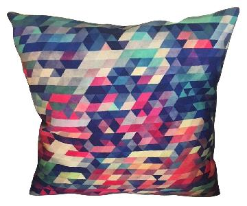 Multi-Colored Throw Pillows