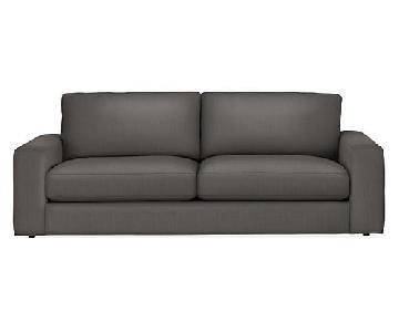 Room & Board Beckett Sofa in Dark Gray