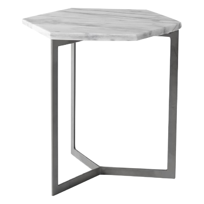 West Elm Hex Side Table AptDeco - Hex side table west elm