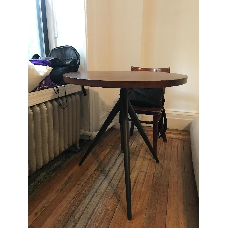 ... West Elm Height Adjustable Bistro Table 0 ...