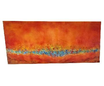 Contemporary Abstract Artwork Sand from Dead Sea