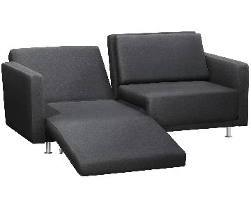 BoConcept Melo 2 Reclining Sleeper Sofa