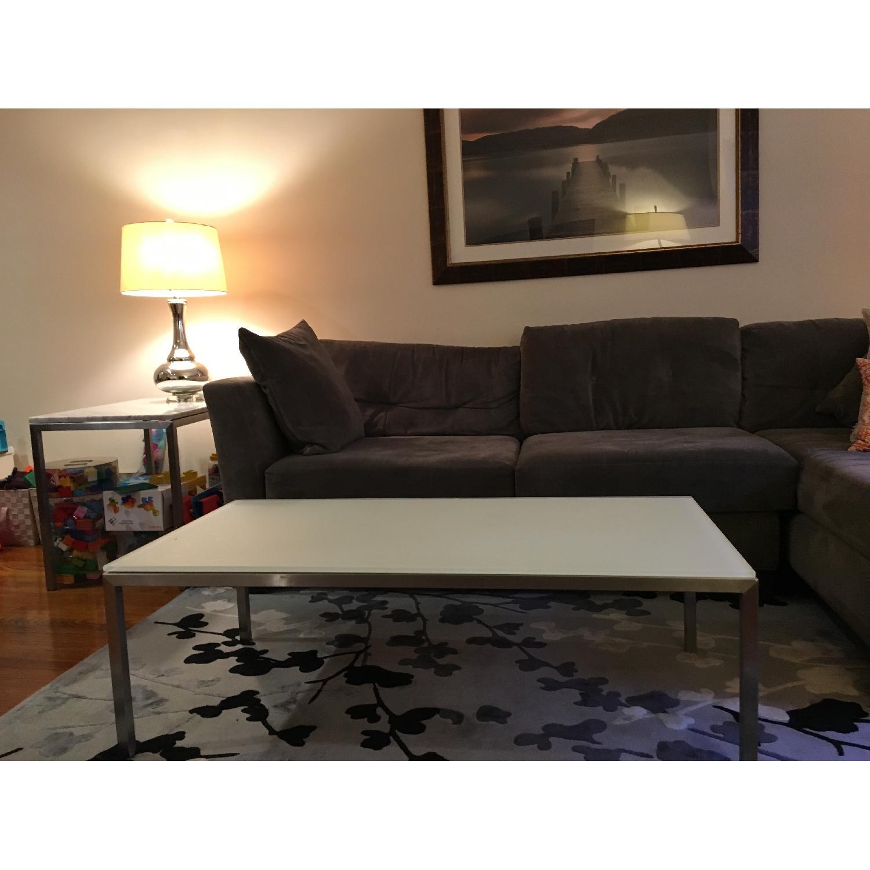 ... Room U0026 Board Portica Coffee Table W/ Glass Top 0 ...