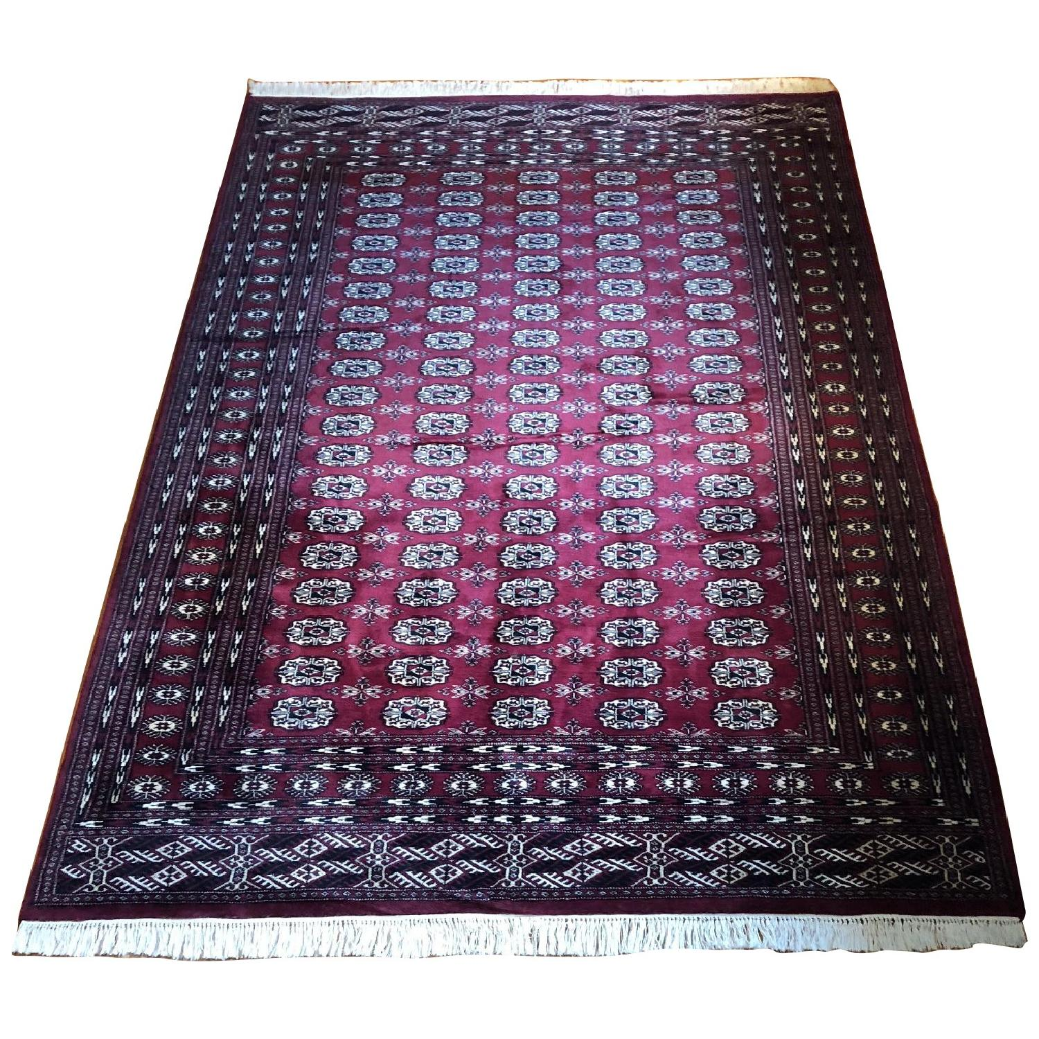 Lahore Bokhara Hand Knotted Area Rug