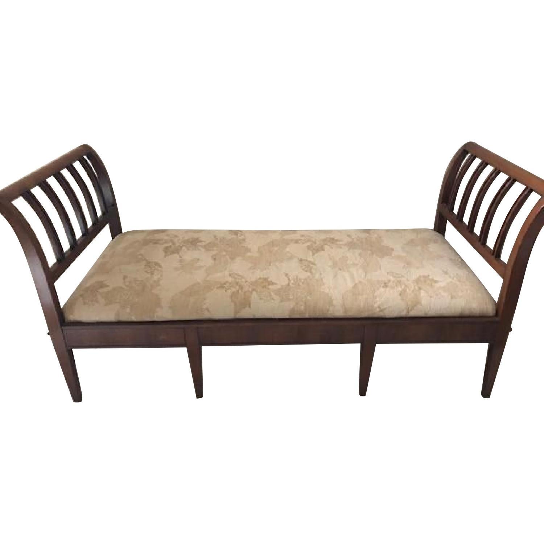 Antique Walnut Sofa/Bench/Bed