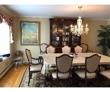 Andres Dining Table w/ 8 Chairs