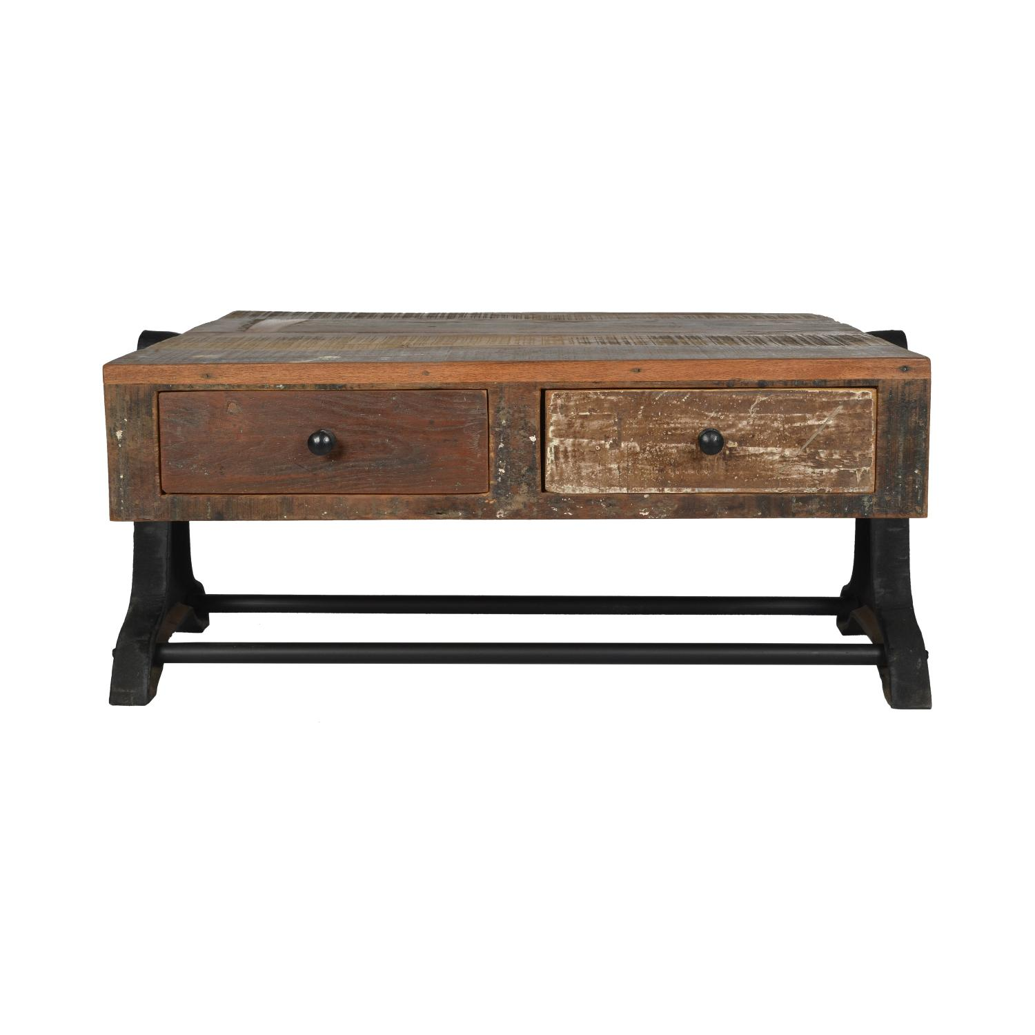 DesigneGallerie Quint Two Drawer Coffee Table