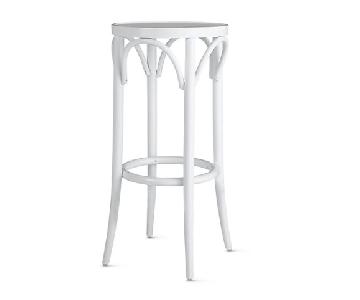 Design Within Reach White Bentwood Thonet Stools