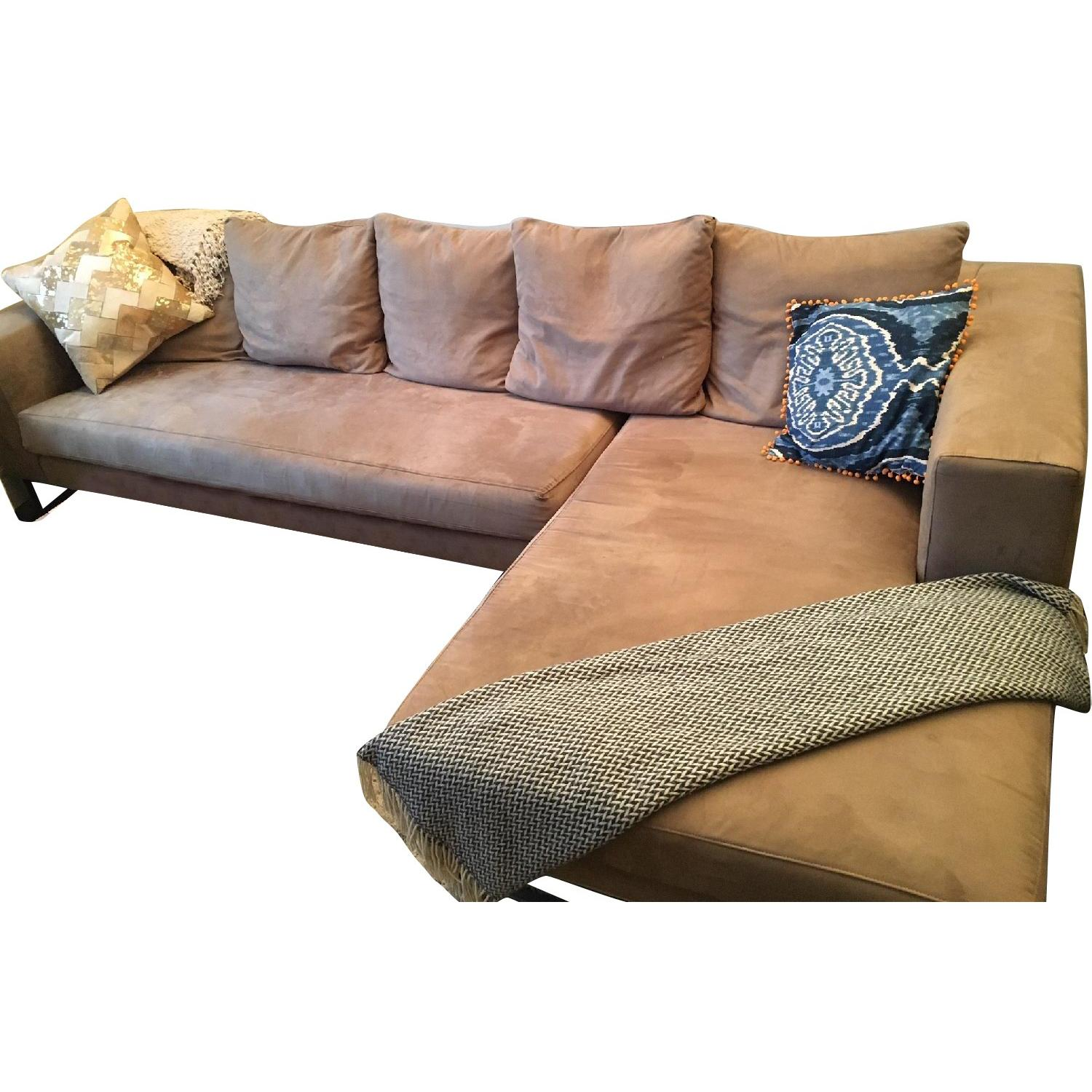 Maurice Villency 2 Piece Sectional Sofa