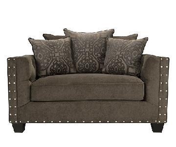 Raymour & Flanigan Cindy Crawford Calista Sofa & Chair