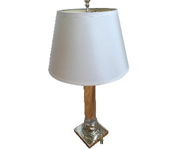 Restoration Hardware Chelsea Column Table Lamps