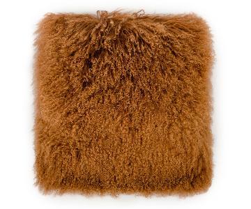 TOV Furniture Tibetan Sheep Copper Large Pillow