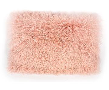 TOV Furniture Tibetan Sheep Blush Large Pillow