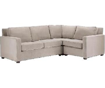 West Elm Henry Left-Facing 3 Piece Sectional Sofa