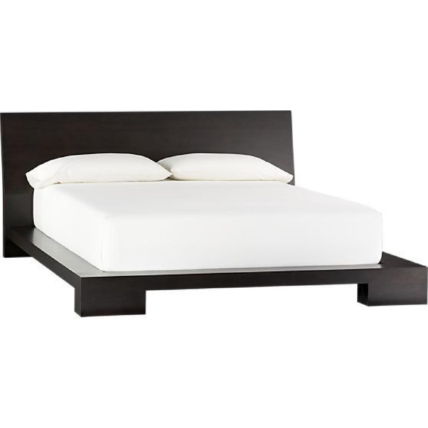 Crate & Barrel Asher Queen Size Bed Frame