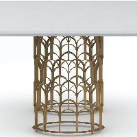 TOV Furniture Gatsby Concrete 5-Piece Dining Set