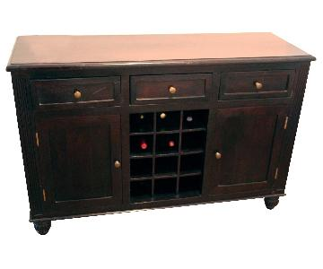 Crate and Barrel Reed Buffet/Sideboard