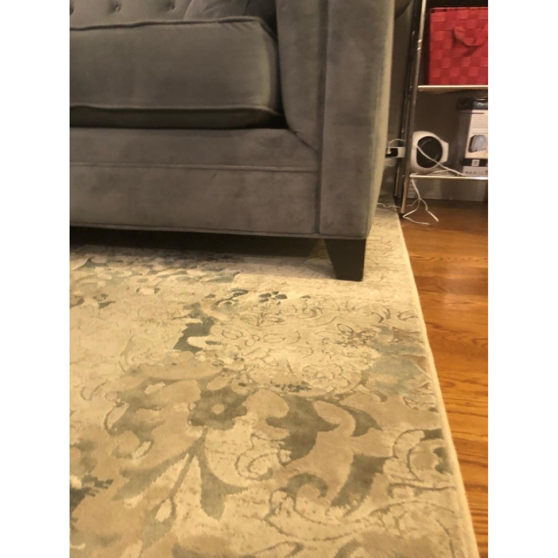 Macy\'s Martha Stewart Saybridge Grey Fabric Sofa - AptDeco