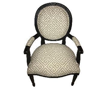 Ethan Allen Customized Cassatt Armchairs