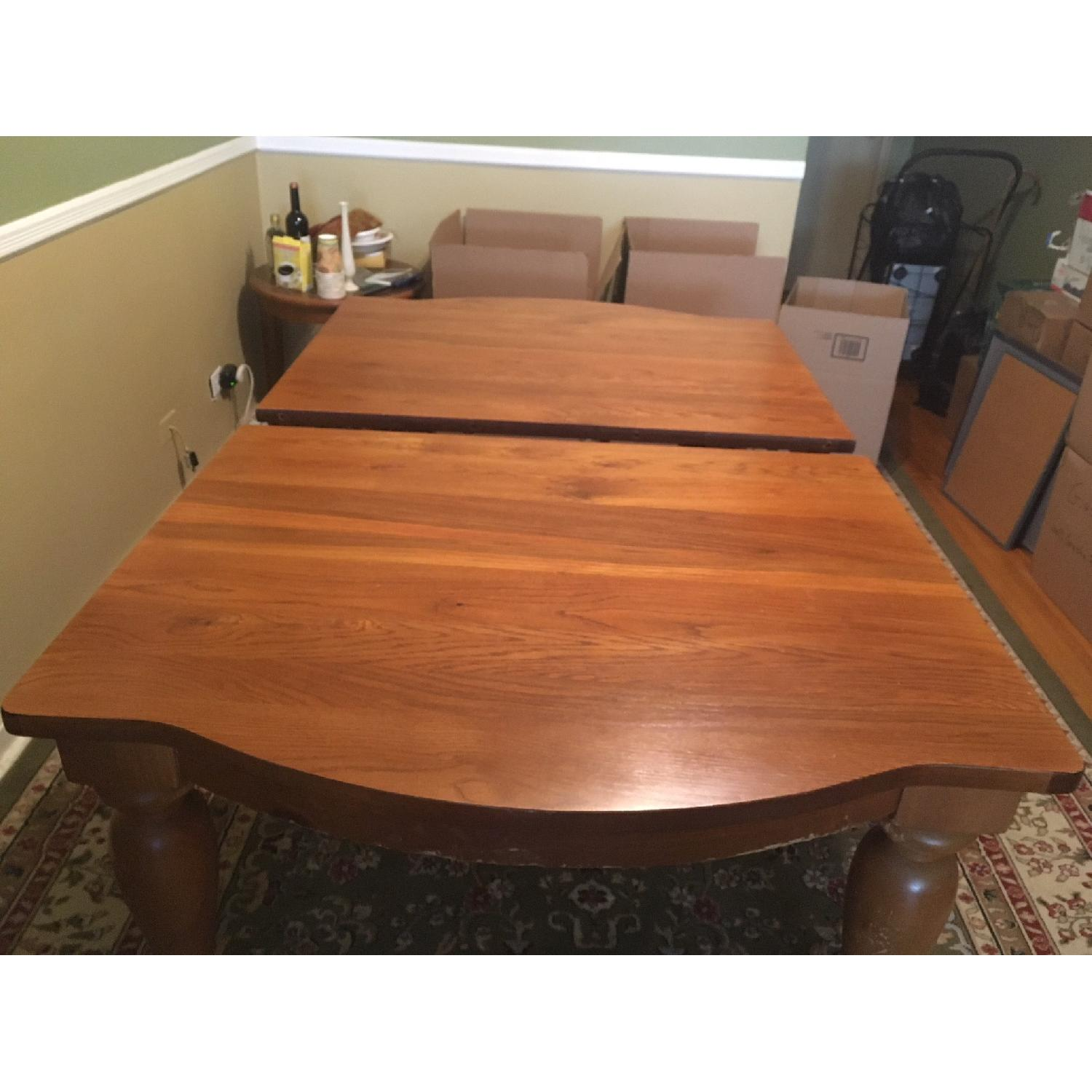 Broyhill Expandable Dining Table W 6 Chairs Aptdeco